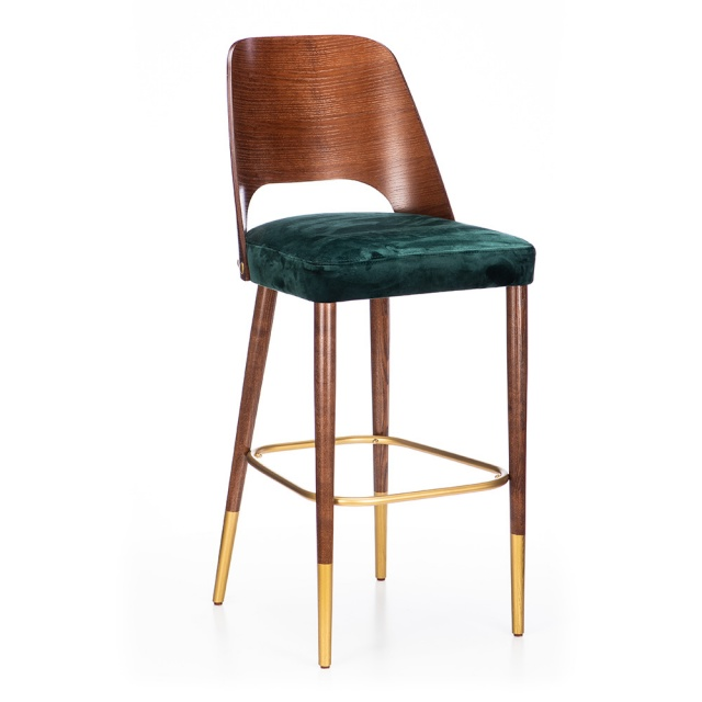 MILANO WOOD bar stool